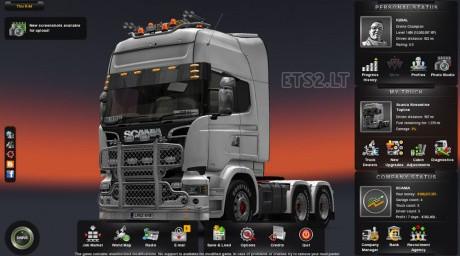 欧洲卡车模拟2无作弊纯净存档