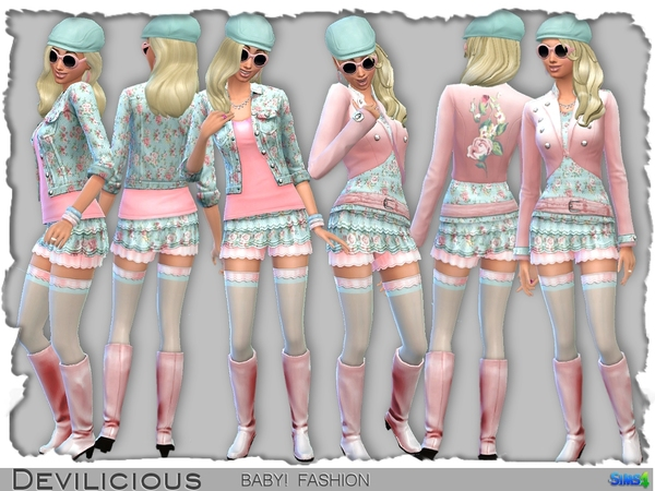 模拟人生4绝美可爱萝莉套装