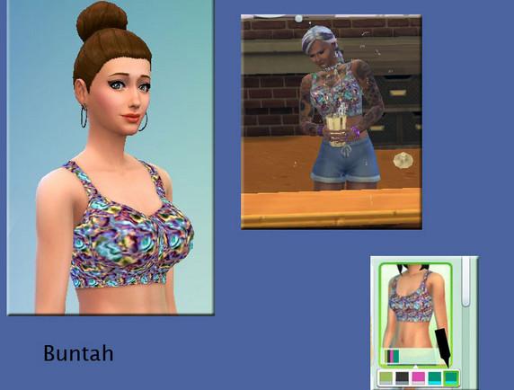 模拟人生4漂亮女人胸衣MOD
