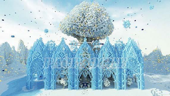 我的世界冰雪花园地图存档