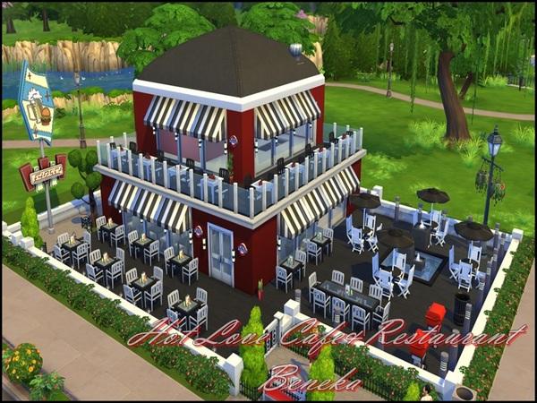 模拟人生4咖啡餐厅