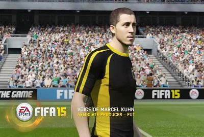 9月23日发售 《FIFA 15》终极球队模式预告