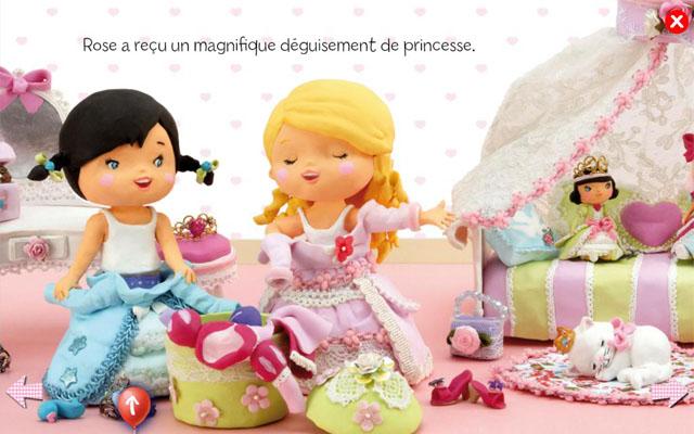 小女孩:泰丝扮演公主