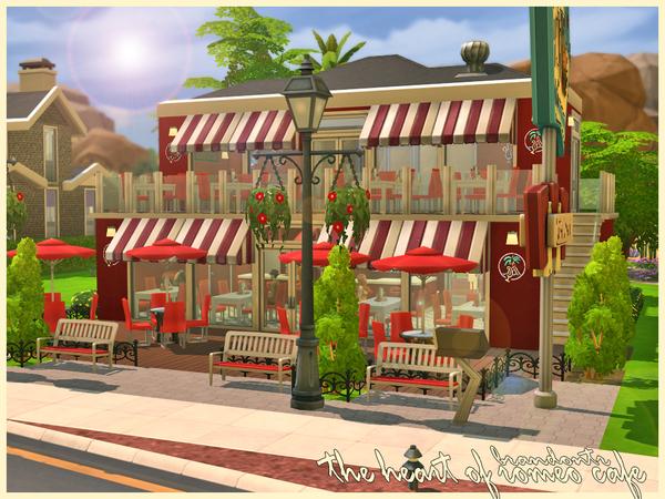 模拟人生4复古温馨咖啡屋MOD