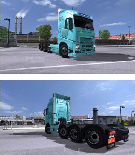 欧洲卡车模拟2沃尔沃FH2013模型MOD