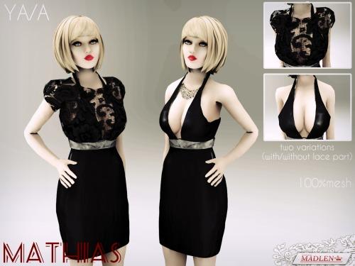 模拟人生4低胸性感短裙MOD