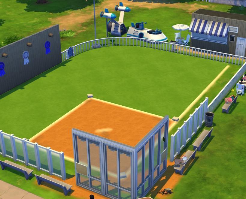 模拟人生4麦肯内斯棒球场MOD