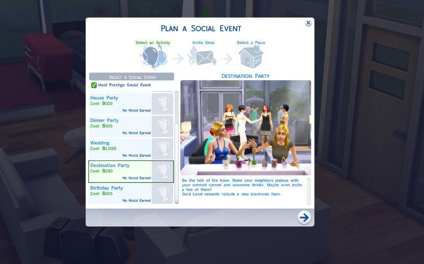 模拟人生4新社会事件目的派对MOD