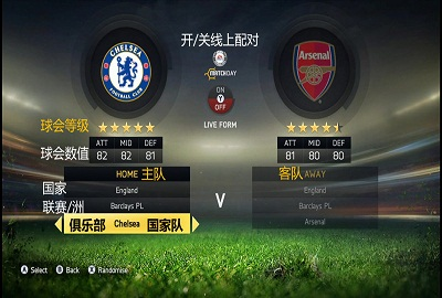 《FIFA 15》最新游戏截图