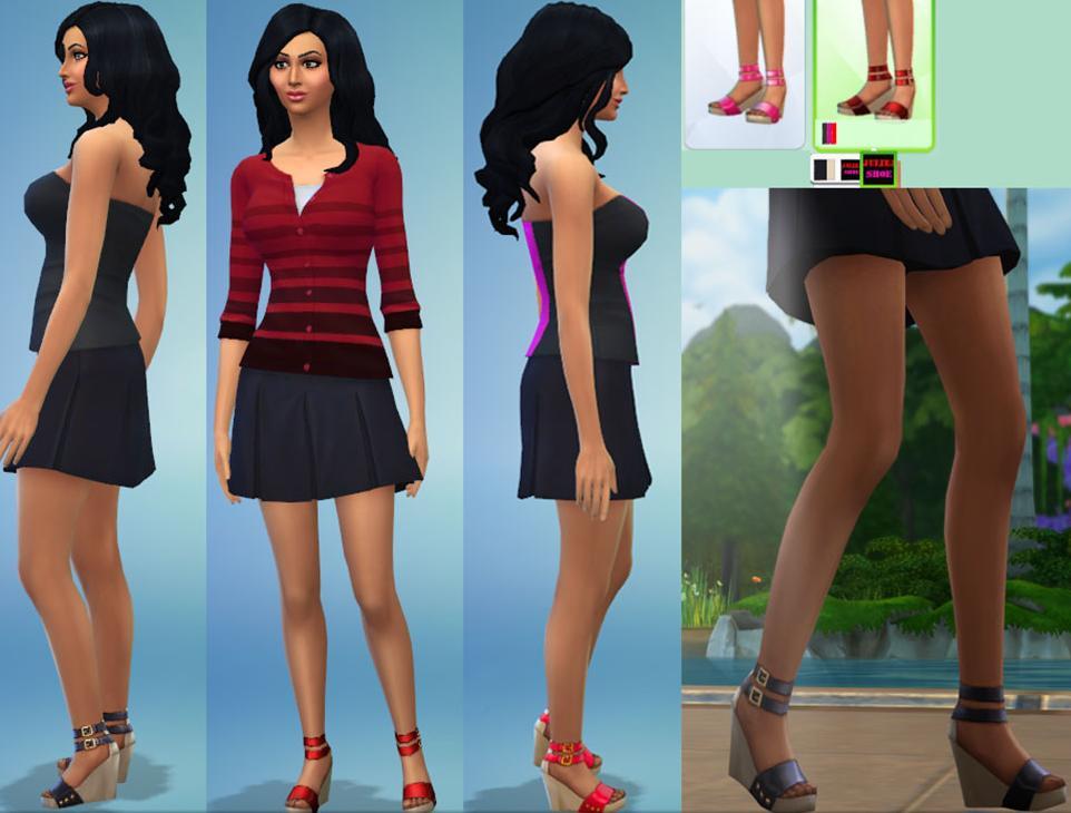 模拟人生4茱莉儿的高跟鞋MOD