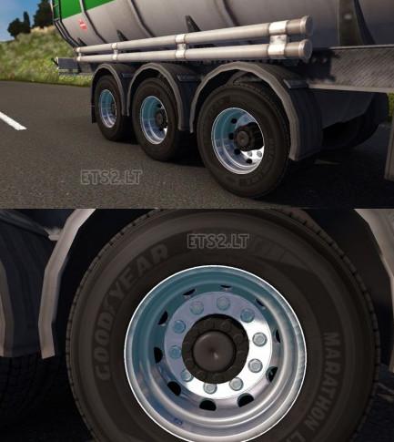 欧洲卡车模拟2双车轮MOD