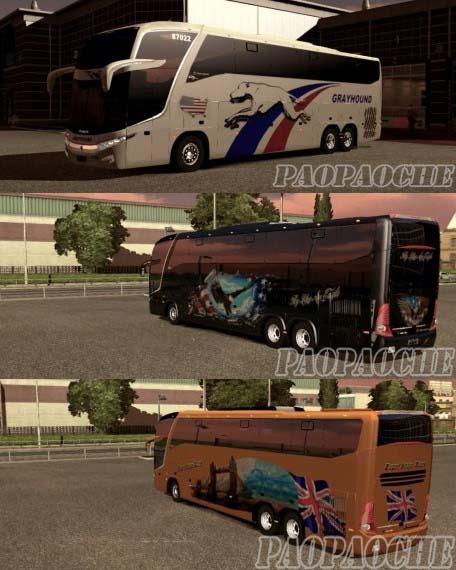 欧洲卡车模拟2G7 1800皮肤包