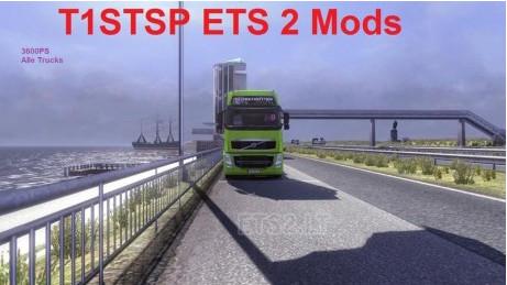欧洲卡车模拟2卡车3600hp引擎MOD