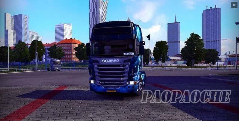 欧洲卡车模拟2纹理增强MOD
