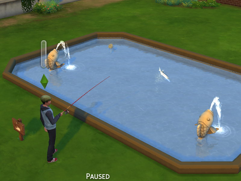 模拟人生4可购买的钓鱼点