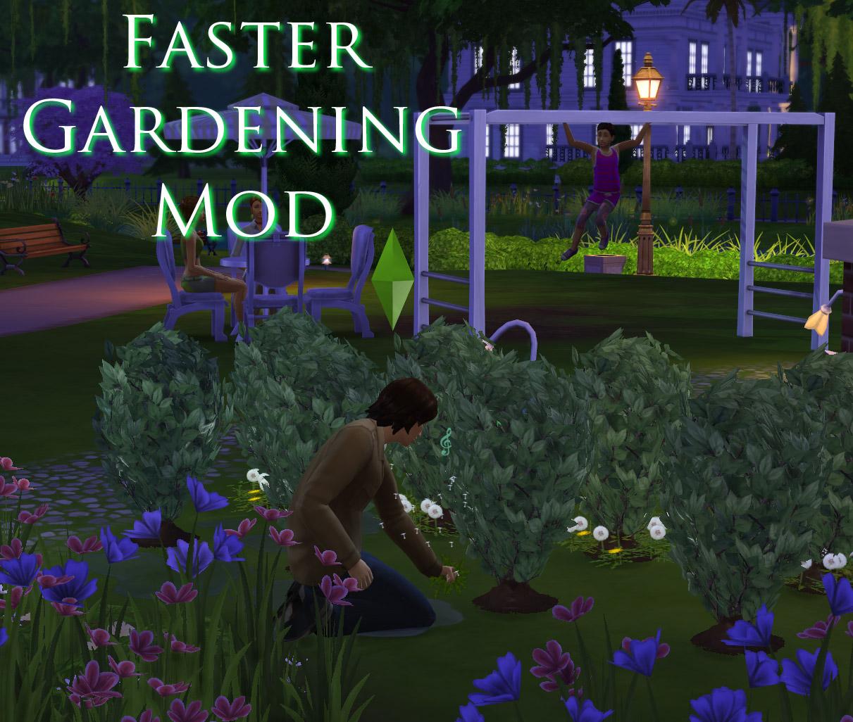 模拟人生4提升园丁任务效率