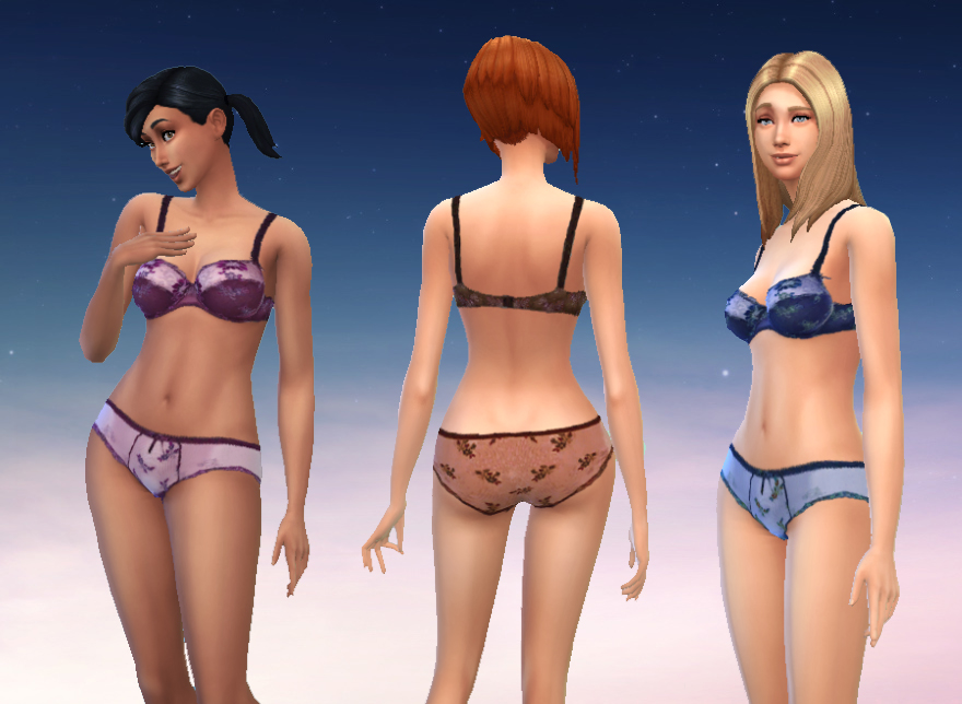 模拟人生4卡若女式内衣MOD