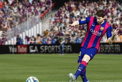 《FIFA 15》试玩版今日公布 真实足球体验