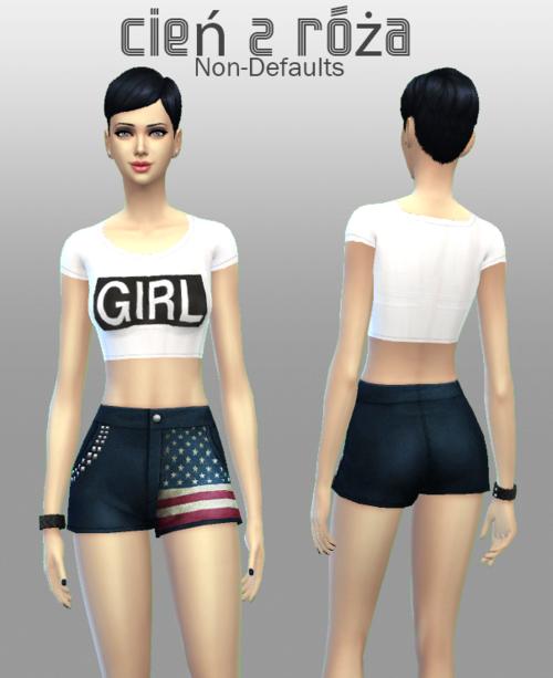 模拟人生4女式短裤MOD合集