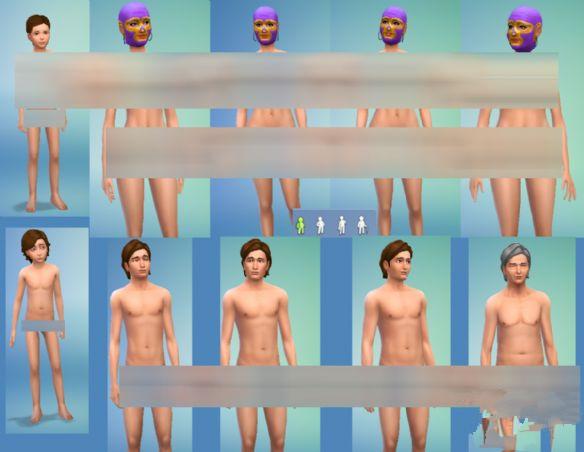 模拟人生4绅士用皇帝的新衣MOD