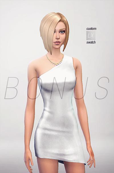 模拟人生4性感唯美连衣裙mod