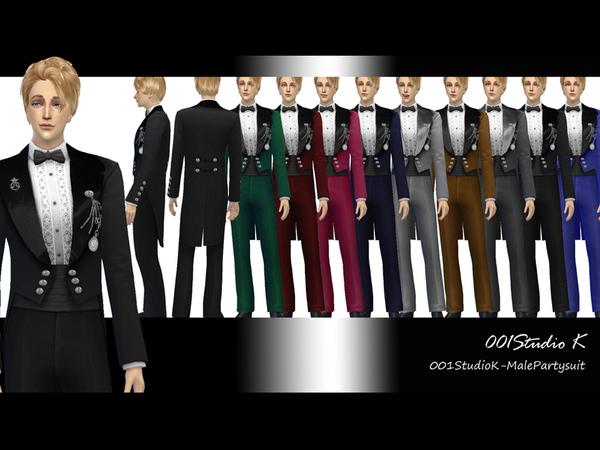 模拟人生4男性绅士晚礼服MOD