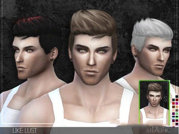模拟人生4男性炫酷造型头发MOD