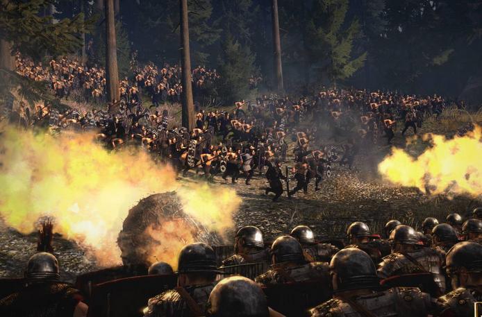 罗马2:全面战争-帝皇版一回合建筑科技MOD