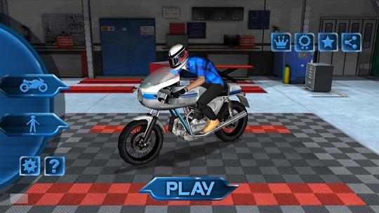 公路摩托车赛中文版v1.0.4截图0