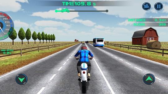 公路摩托车赛中文版v1.0.4截图2
