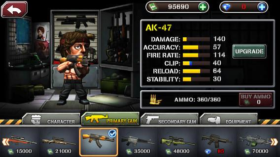 反恐突击队2IOS无限金币版v1.1.5截图3