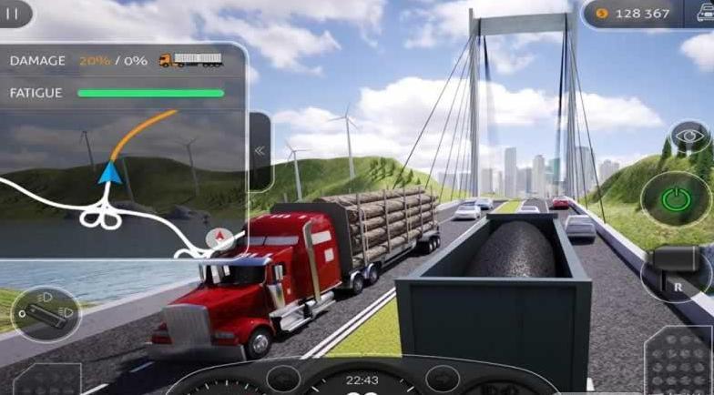 卡车模拟2016中文版1.5截图2