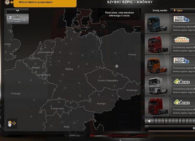 欧洲卡车模拟2配件全解锁MOD
