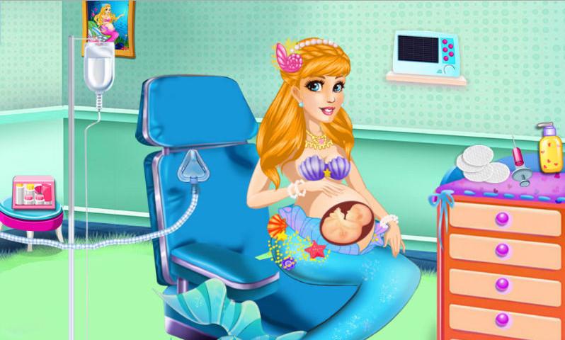 0.0   上一张上一张 《美人鱼妈妈生宝贝汉化版》游戏截图