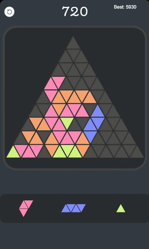 三角形消除安卓版v1.0_截图1