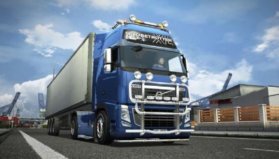 欧洲卡车模拟2中国地图0.11