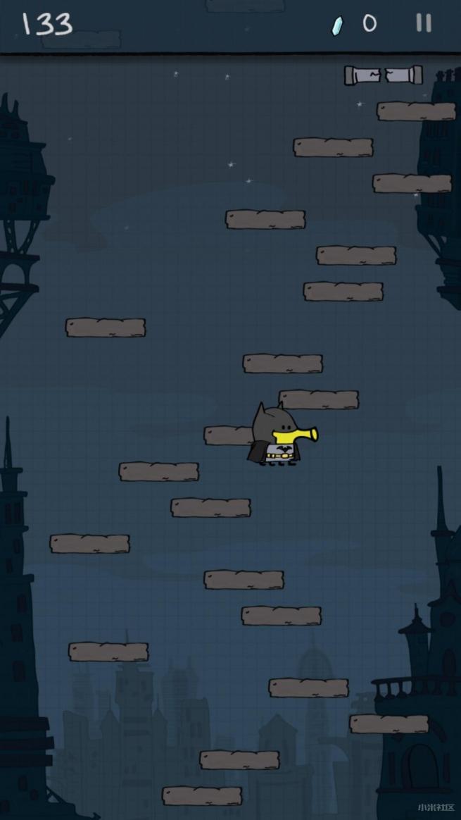 涂鸦跳跃之DC超级英雄无限金币修改版v3.9.8截图1
