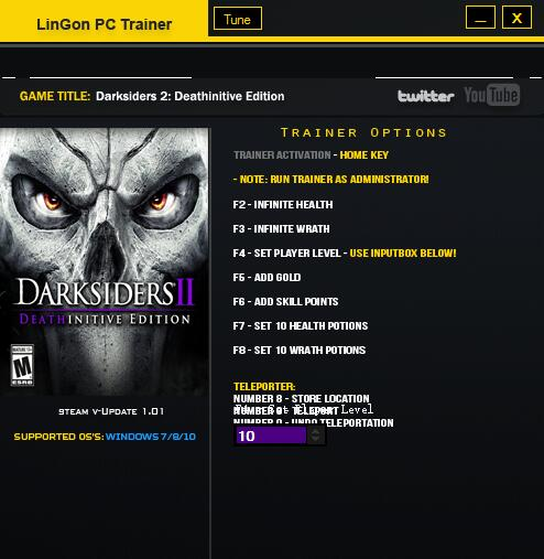 暗黑血统2终极版v1.0修改器+9