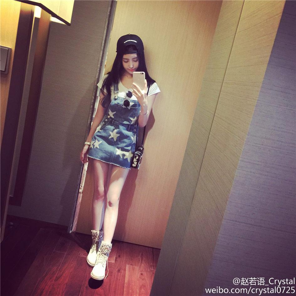 网络红人赵若语 娇萌可爱生活自拍