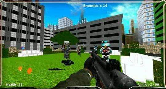 方块战争:剧终武器解锁版v1.02截图0
