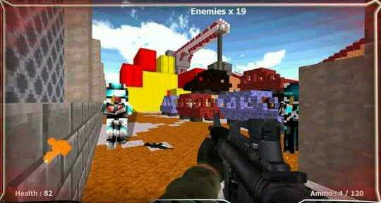 方块战争:剧终武器解锁版v1.02截图1