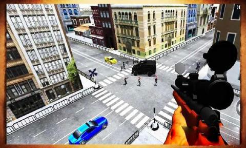 3D狙击行动 无限金币版v1.2截图0