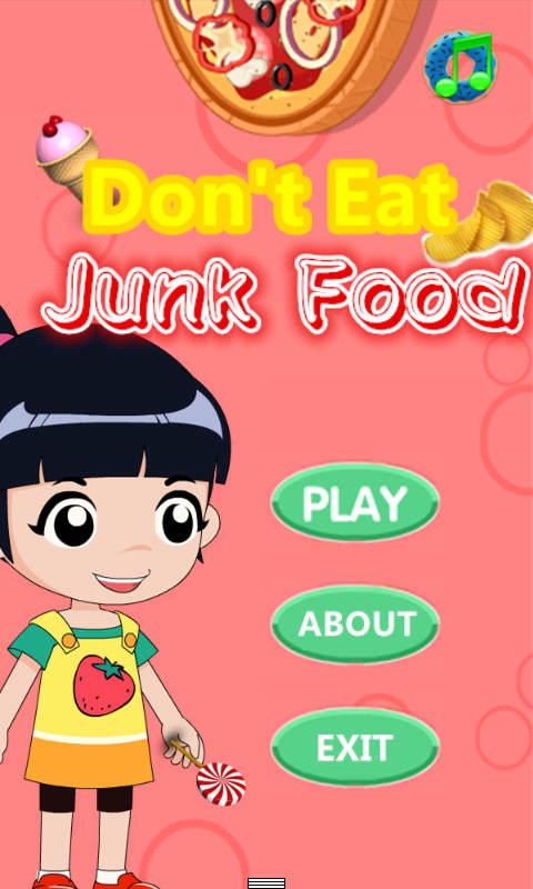 别吃垃圾食品(儿童认知教育游戏)v2.4.2截图0