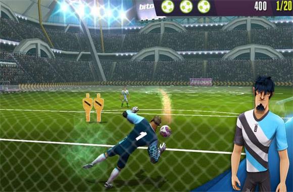 踢吧足球勇士修改版(金币无限)v1.0.8_截图0