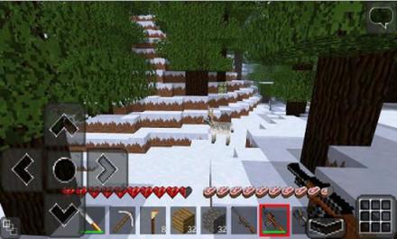 打雪仗雪人大战破解版像素生存v1.0.0截图2