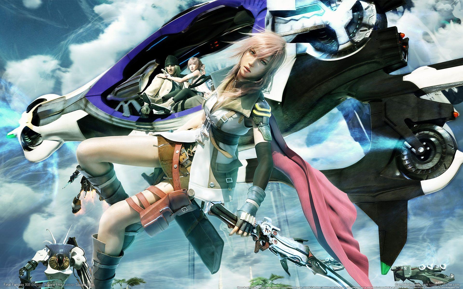 最终幻想13:雷霆归来PC中文版截图2