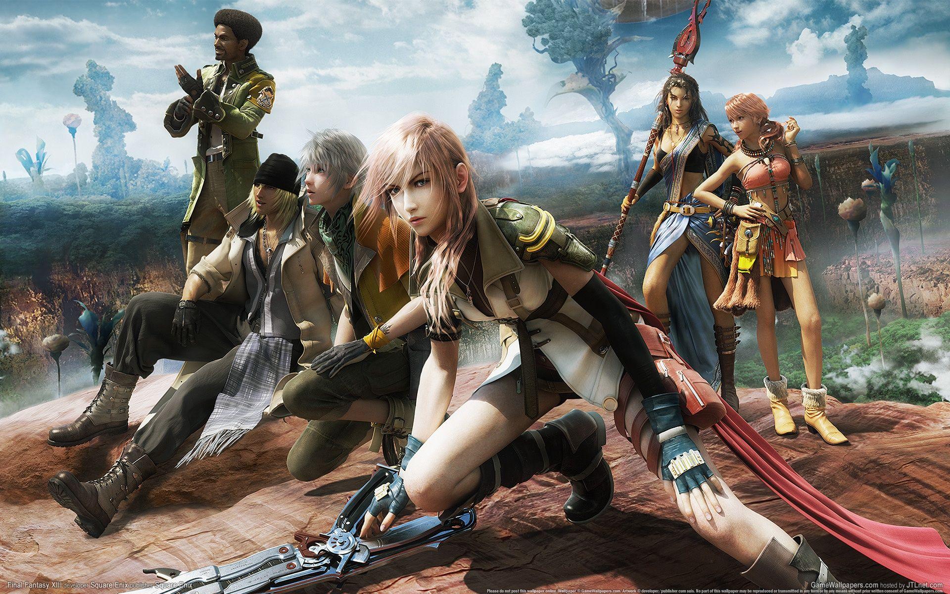 最终幻想13:雷霆归来PC中文版截图5