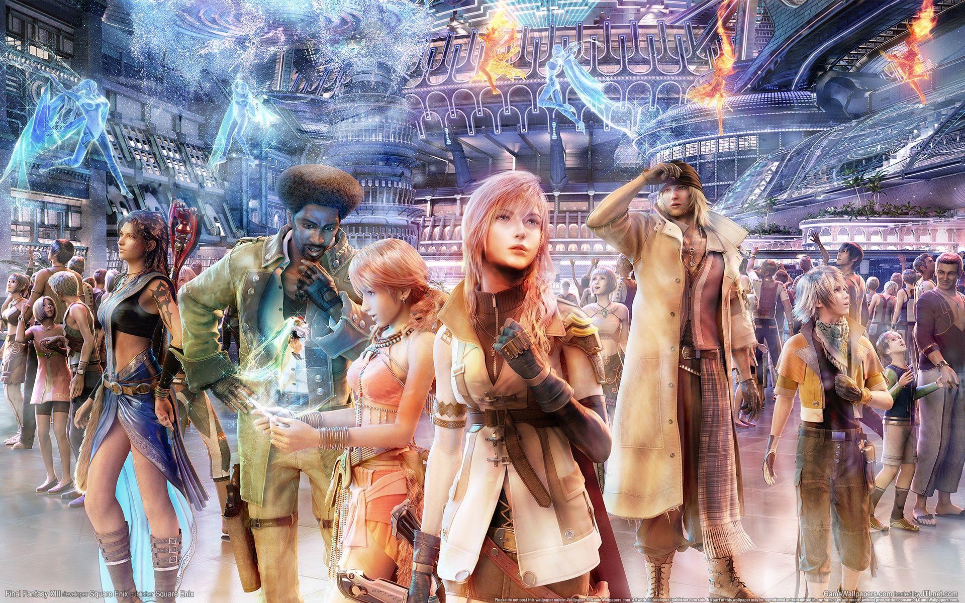 最终幻想13:雷霆归来PC中文版截图3