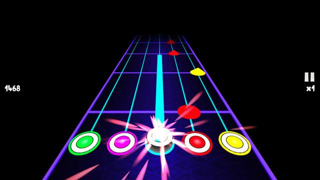 吉他梦ios手机版类似节奏大师v3.4截图0