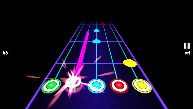 吉他梦ios手机版类似节奏大师v3.4截图2